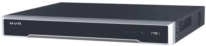 Hikvision DS-7616NI-K2 регистратор47898716-ти канальный IP-видеорегистраторВидеовход: 16 каналов; аудиовход: двустороннее аудио 1 канал RCA; видеовыход: 1 VGA до 1080Р, 1 HDMI до 4К; аудиовыход: 1 канал RCA.Входящий поток 160Мб/с; исходящий поток 160Мб/с; разрешение записи до 8Мп; синхр.воспр. 2 канала@8Мп; 2 SATA для HDD до 6Тб; тревожные вход/выход 4/1; 1 RJ45 10M/100M/1000М Ethernet; 2 USB; -10°C...+55°C; DC12В; 15Вт макс (без HDD), ?1кг (без HDD).