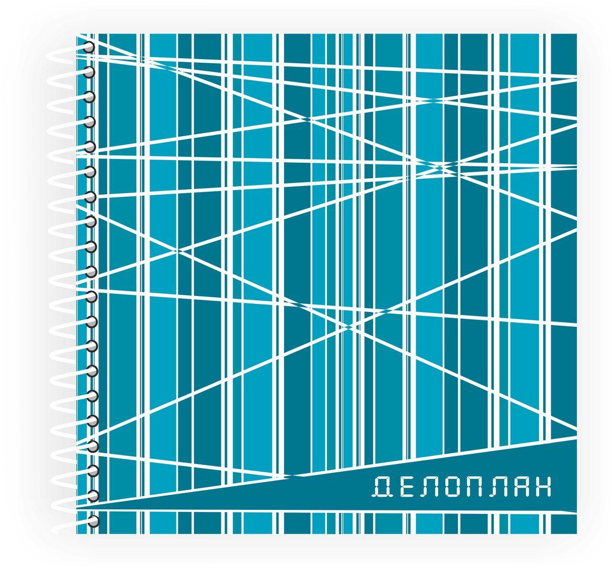 Фолиант Блокнот Делоплан 100 листов цвет бирюзовый блокноты фолиант блокнот гимнастки