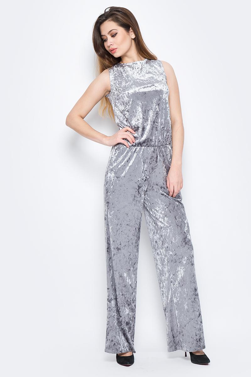 Комбинезон женский La Via Estelar, цвет: серый. 60581-2. Размер 4860581-2