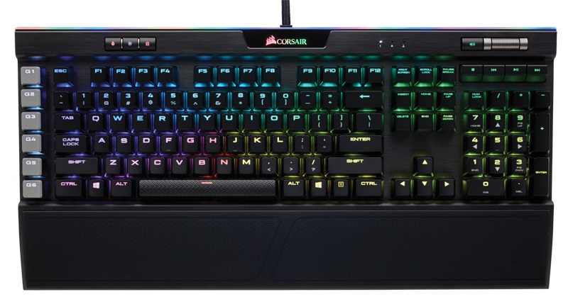 Corsair Gaming K95 RGB Platinum Cherry MX Speed игровая клавиатура клавиатура corsair gaming k70 rapidfire cherry mx speed black usb [ch 9101024 ru]