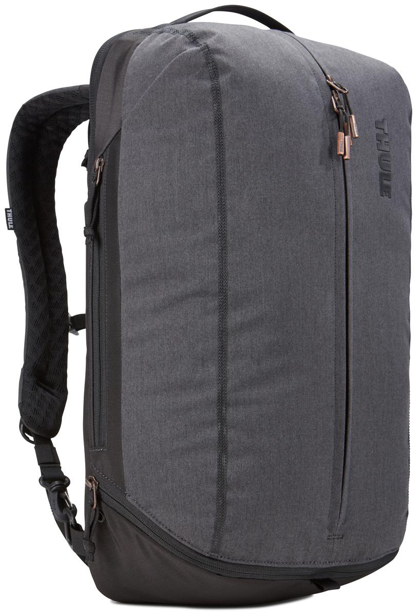 Рюкзак городской Thule Vea Backpack, цвет: черный, 21 л3203509Эту универсальную спортивную сумку можно также использовать как рюкзак с одной или двумя лямками и ходить с ней и в спортзал, и на работу, храня все вещи отдельно друг от друга. Особенности:Специальные накладные карманы с мягкой подкладкой подходят для MacBook с диагональю 15 дюймов, ноутбуков с диагональю 15,6 дюймов и планшетов с диагональю 10 дюймов.Храните все необходимые для работы вещи в специальном отделении, предназначенном для ноутбуков, планшетов, файлов, ручек, паспортов, USB-накопителей, небольших шнуров и аксессуаров.Эту универсальную сумку можно носить тремя различными способами: в виде рюкзака, спортивной сумки и рюкзака с одной лямкой (неиспользуемые ремни можно отсоединить).В растягивающемся внутреннем кармане можно хранить обувь или грязную одежду.Храните обувь в отдельном растягивающемся кармане, расположенном с внешней стороны рюкзака. Если он не используется, его можно стянуть, чтобы освободить место.Во внешнем потайном кармане с плисовой подкладкой удобно хранить телефон.Внутренние сетчатые карманы предназначены для хранения вещей, необходимых при походе в спортзал: от замка, ключей и карты доступа до расчески и туалетных принадлежностей.Светоотражающие элементы на передней части сумки и наплечных ремнях обеспечат безопасность на дороге.Наплечные ремни с мягкой подкладкой и задняя панель с вентиляционным каналом обеспечивают комфорт при ношении рюкзака.Быстрый и удобный доступ к содержимому благодаря надежным молниям YKK с язычками с надписью Thule и фурнитурой Duraflex.