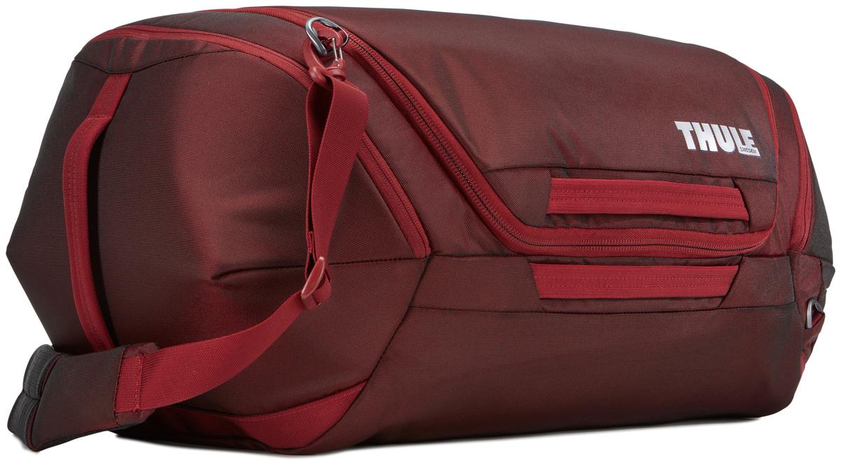Сумка дорожная Thule Subterra Weekender Duffel, цвет: темно-бордовый, 60 л сумка дорожная thule subterra luggage цвет темно серый 75 л