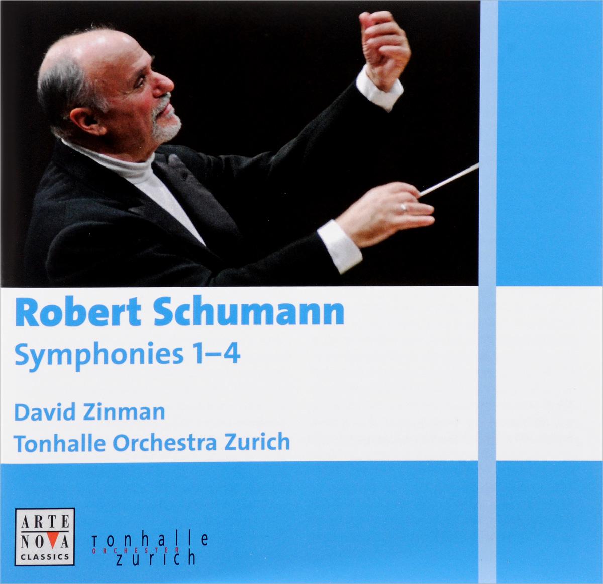 Дэвид Зинман,Tonhalle Orchestra Zurich Robert Schumann. Symphonies 1 - 4 (2 CD) футболка wearcraft premium printio остановите экономические войны stop wars