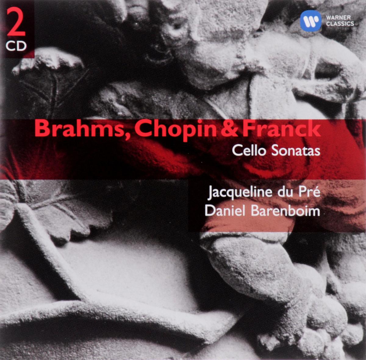 Иоганнес (Йоханнес) Брамс,Фредерик Шопен,Дэниэл Баренбойм Brahms, Chopin & Franck - Cello Sonatas (2 CD) spectral classics pl151 bg 2 boxes