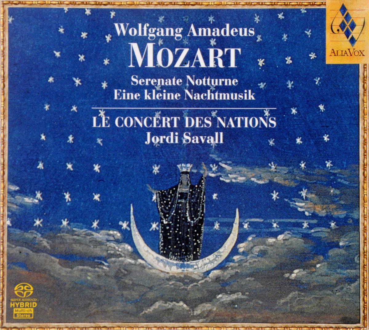 Вольфганг Моцарт W.A. Mozart. Eine Kleine Nachtmusik Kv525, Serenata Notturna Kv239, Notturno In D Major Kv286, A Musical Joke, Kv522 kleine