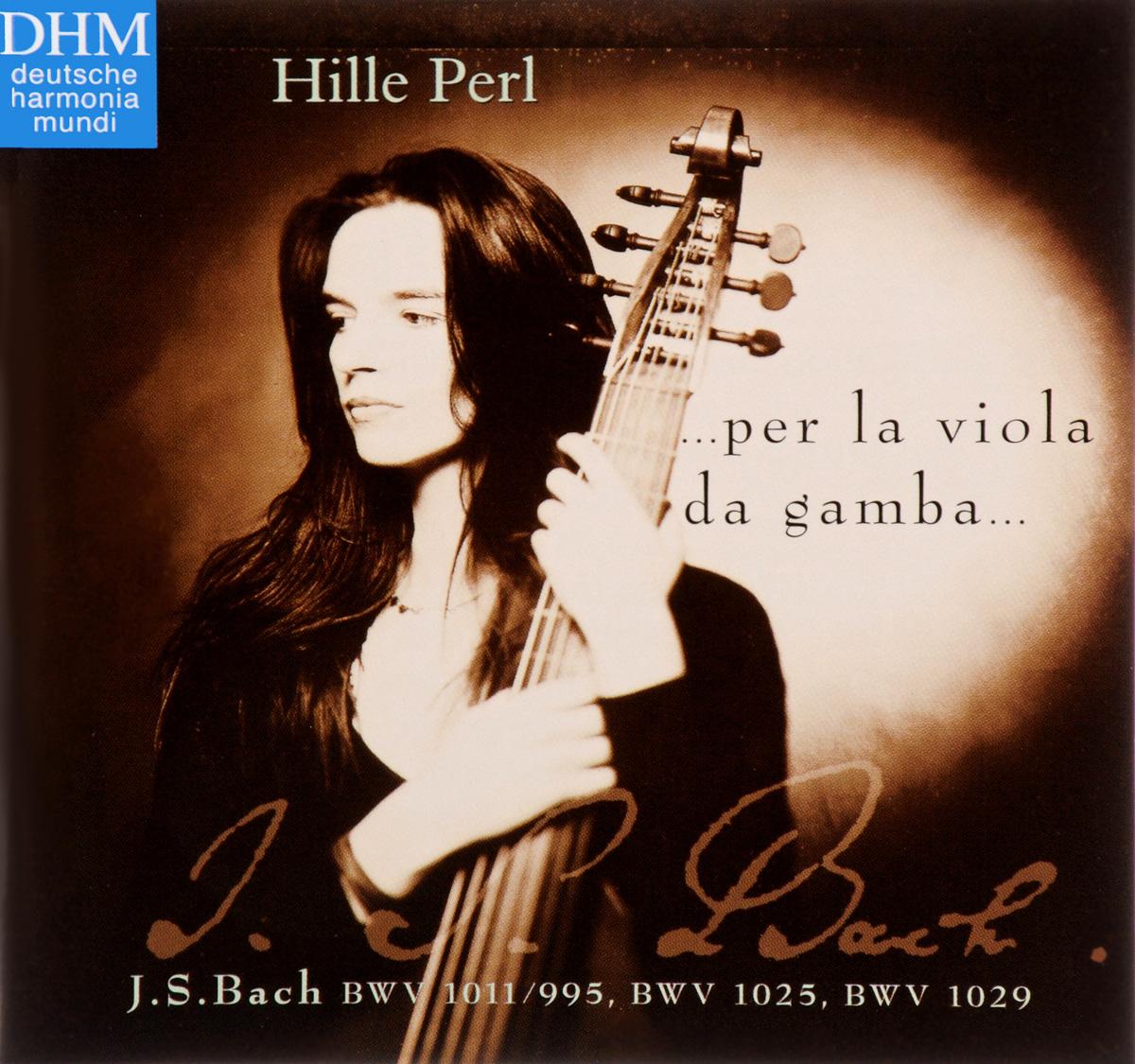 Хилле Перл Hille Perl. Bach. Per La Viola Da Gamba claudio la viola 100