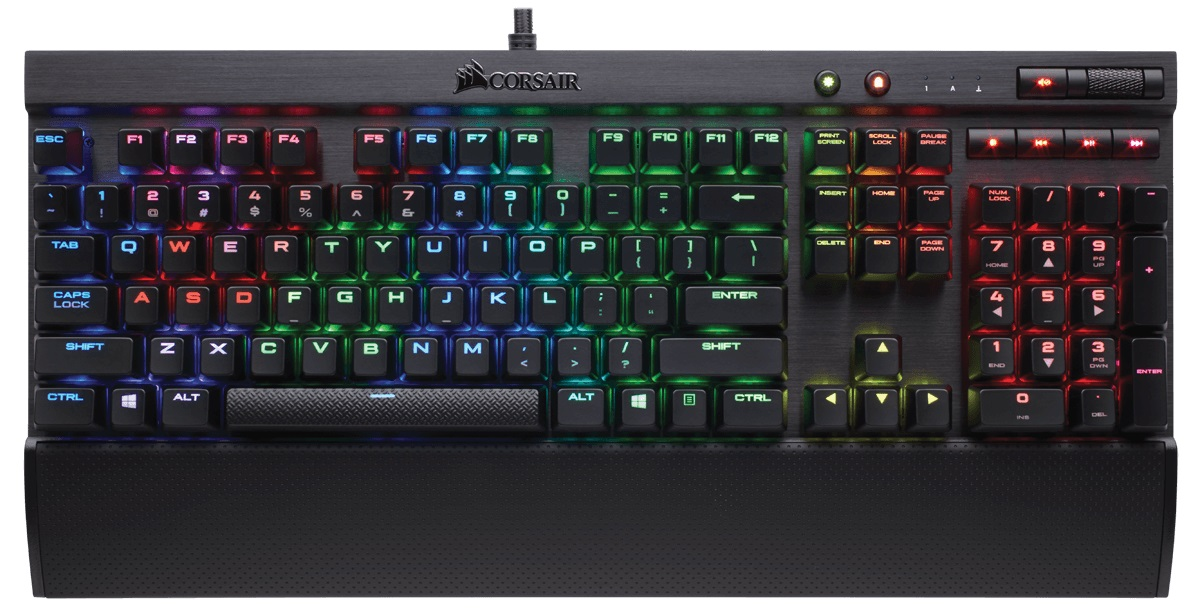Corsair Gaming K70 Lux RGB Cherry MX Brown игровая клавиатура клавиатура corsair gaming k70 rapidfire cherry mx speed black usb [ch 9101024 ru]