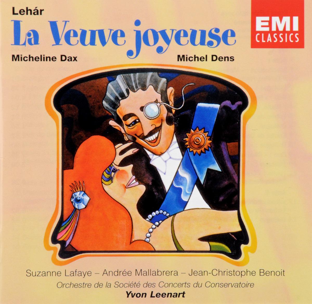 Dens, Dax, Lafaye, Leenart. Lehar. La Veuve Joyeuse (2 CD) spectral classics pl151 bg 2 boxes