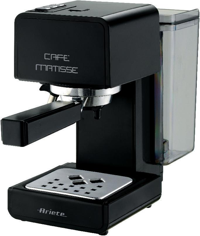 Ariete 1363/10 Cafe Matisse, Black кофеварка эспрессо грили электрические ariete гриль 760 la grigliata 1600 вт