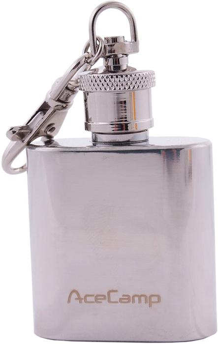 Фляжка-брелок AceCamp S/SKeychainFlask1OZ, 30мл1510Фляжка-брелок из нержавеющей стали - S/S Keychain Flask 1OZ на 30 мл от AceCamp GmbH.Это, наверное, один из самых практичных брелоков для ключей на все случаи жизни. Как для себя лично, так и в подарок. Благодаря нержавеющей стали и уплотнительному кольцу, в него можно разместить горячительные напитки, спирт, парфюм, нашатырь или индивидуальное лекарство. Нержавеющая сталь позволит максимально снизить уровень окисления содержимого. А размер на 30 мл и наличие штатного карабина позволит его с лёгкостью поместить в карман или на связку ключей.Вес: 55 гОбъём: 30 млСостав: Нержавеющая сталь.AceCamp - куда бы вы ни шли!