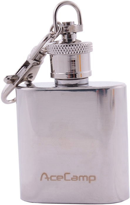 Фляжка-брелок AceCamp S/SKeychainFlask1OZ, 30мл бутылка спортивная salomon soft flask 500 мл
