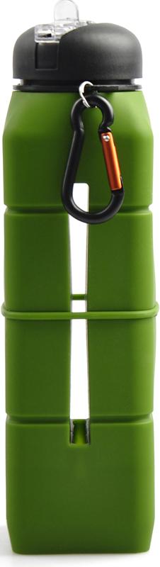 Бутылка-динамик AceCamp  SoundBottle , силиконовая, цвет: синий, 769 мл - Туристическая посуда