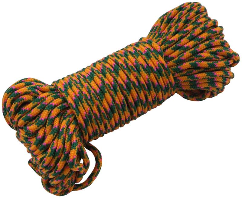 ВеревкаутилитарнаяAceCamp  Радуга RainbowUtilityCord , 4 мм,20 м - Полезные аксессуары