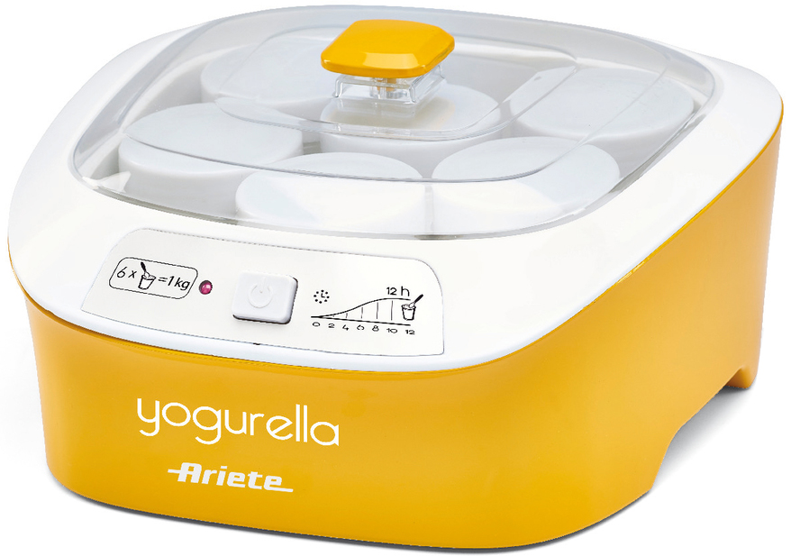 Ariete 626 Yogurella Rainbow, Yellow White йогуртница - Йогуртницы
