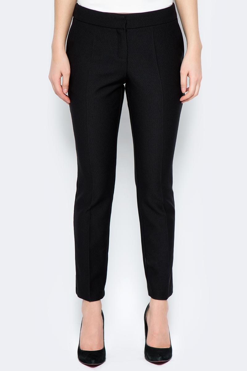 Брюки женские adL, цвет: черный. 15330581003_001. Размер XS (40/42) брюки женские