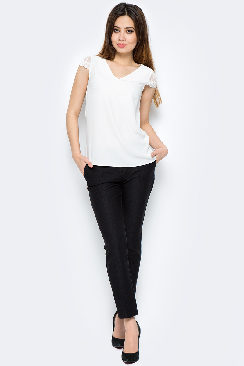 Брюки женские adL, цвет: черный. 15330581003_001. Размер M (44/46) adl ad005ewqdi75