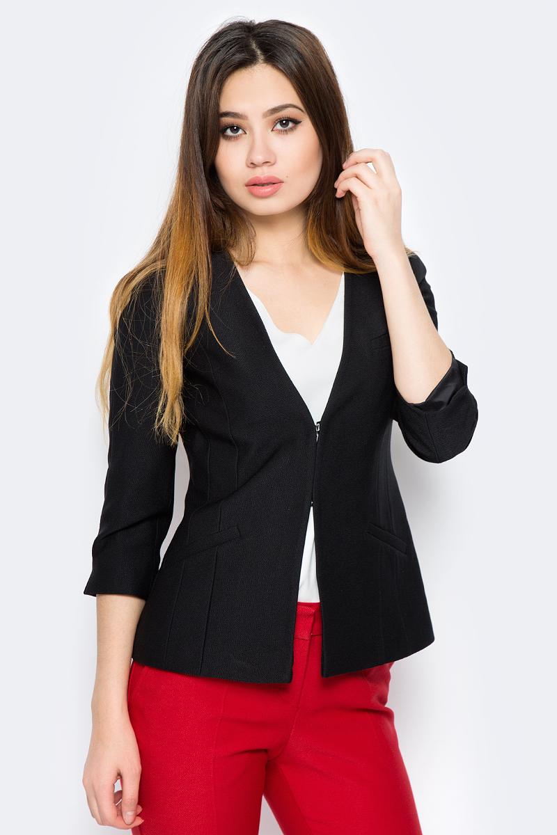 Жакет женский adL, цвет: черный. 11930580002_001. Размер XS (40/42) женский гардероб