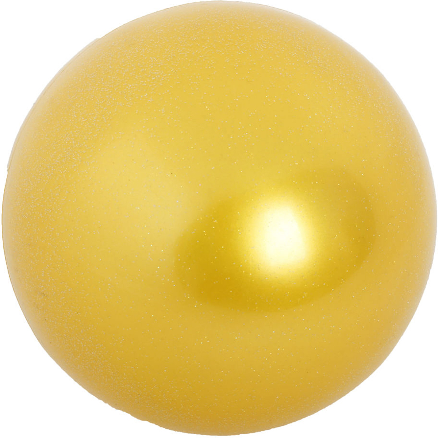 Мяч гимнастический  Larsen , цвет: желтый, диаметр 19 см - Художественная гимнастика
