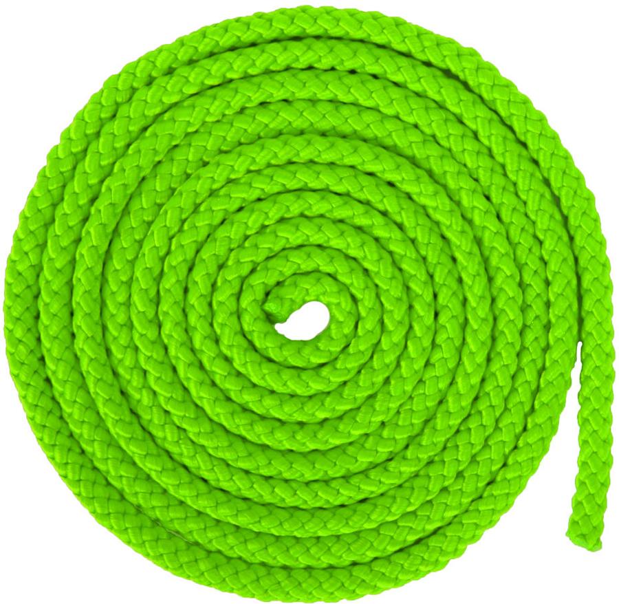 Скакалка гимнастическая Larsen, цвет: зеленый, длина 3 м150516Скакалка - это один снарядов в арсенале художественной гимнастики. В качестве дополнительного элемента подготовки она включена в тренировочный процесс велосипедистов, футболистов и боксеров. Гимнастическая скакалка Larsen может быть использована как любителями, так и профессионалами. За небольшой промежуток времени она позволяет укрепить сердечно-сосудистую и дыхательную систему, а также добиться хороших результатов в спорте.