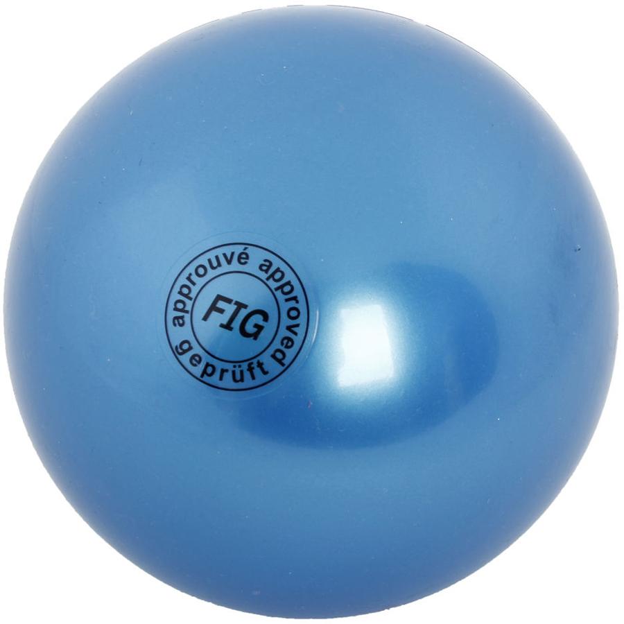 Мяч гимнастический Larsen, цвет: синий, диаметр 19 см ортопедический мяч для гимнастики в курске