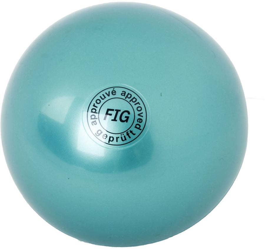 Мяч гимнастический Larsen, цвет: зеленый, диаметр 19 см ортопедический мяч для гимнастики в курске