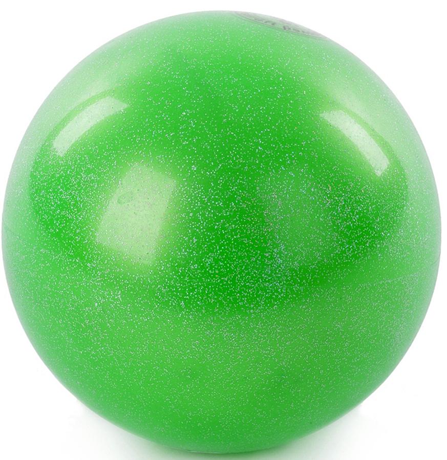 Мяч гимнастический Larsen, цвет: зеленый, диаметр 15 см ортопедический мяч для гимнастики в курске
