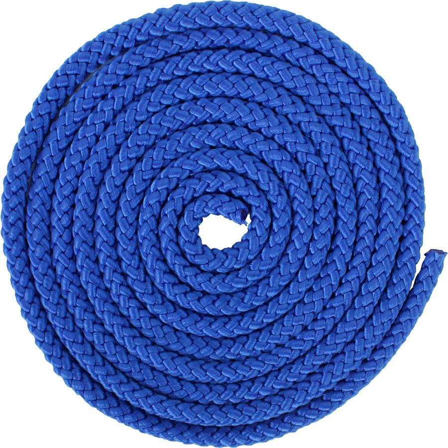 Скакалка гимнастическая Larsen, цвет: синий, 3 м345279Скакалка для художественной гимнастики выполнена из нейлона в синем цвете. Длина изделия - 3 м.Как выбрать кардиотренажер для похудения. Статья OZON Гид