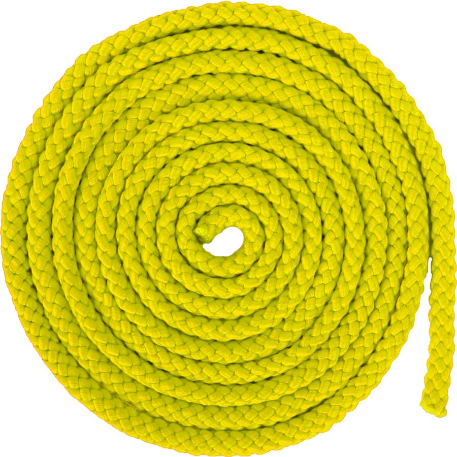 Скакалка гимнастическая Larsen, цвет: желтый, длина 3 м345280Скакалка для художественной гимнастики выполнена из нейлона в желтом цвете. Длина изделия — 3 м.Как выбрать кардиотренажер для похудения. Статья OZON Гид