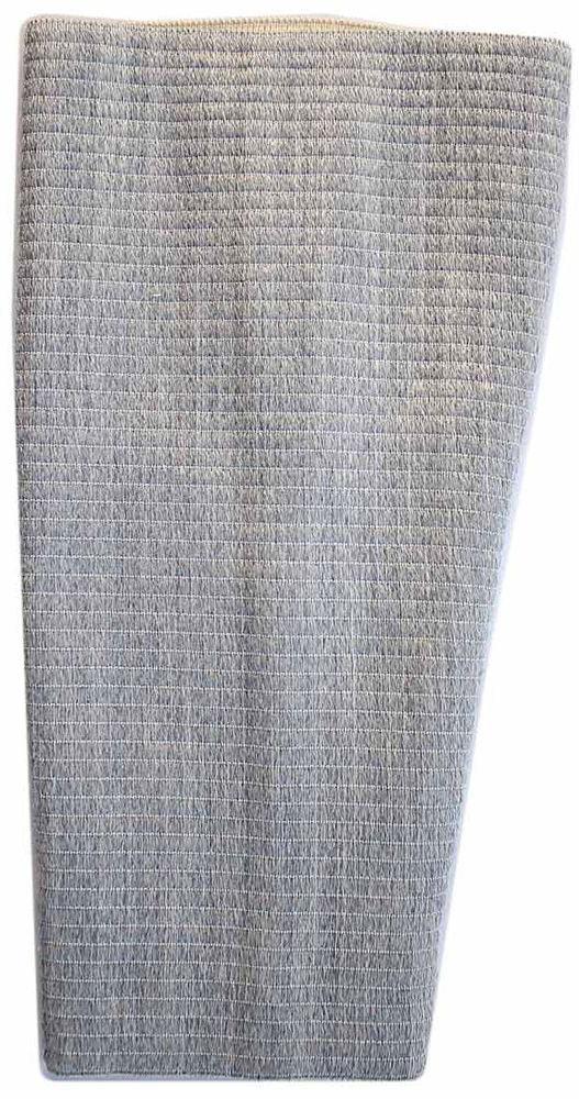 EcoSapiens Наколенник согревающий фиксирующая повязка с шерстью овцы, размер 3 (M) бандаж ecosapiens es cabk 4 на колено медицинский согревающий с шерстью верблюда размер l 42 46 серый