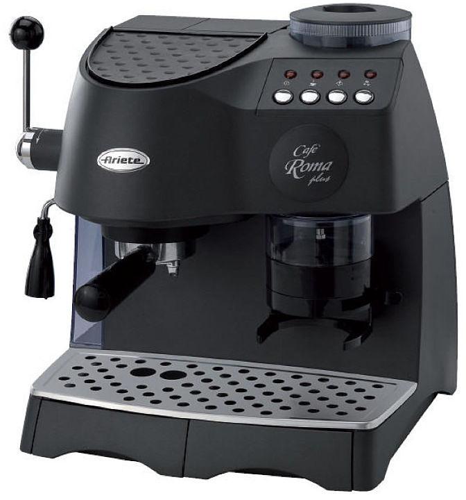 Ariete 1329/1 Cafe Roma Plus, Black кофеварка эспрессо - Кофеварки и кофемашины