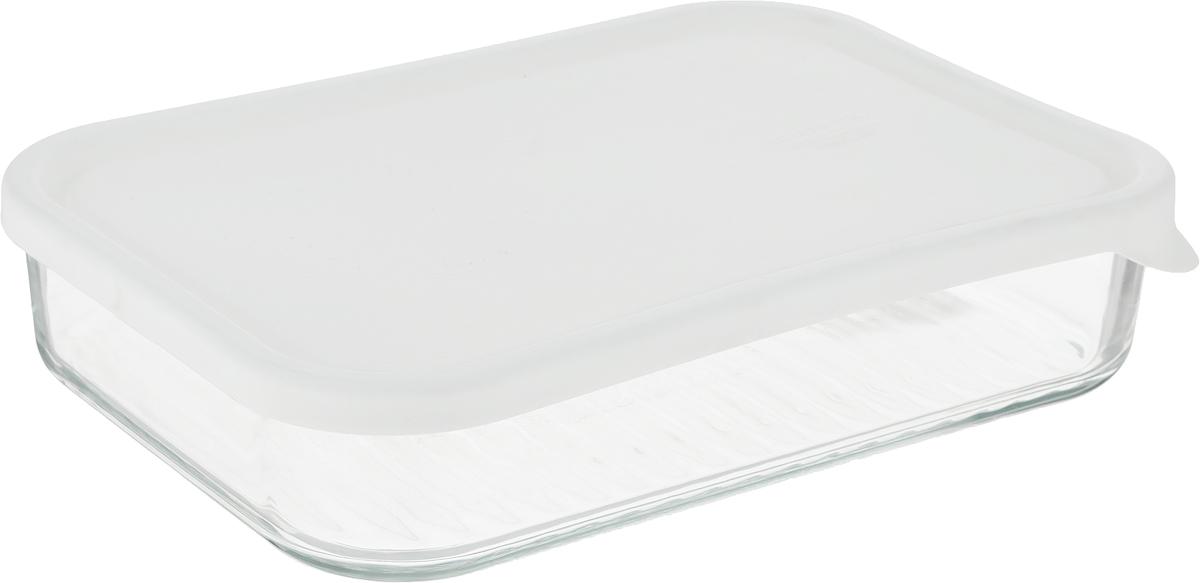 Контейнер Glasslock, прямоугольный, цвет: прозрачный, 1,13 лMCRB-113NFКонтейнер для хранения Glasslock изготовлен из высококачественного закаленного ударопрочного стекла. Герметичная пластиковая крышка надолго сохраняет свежесть продуктов. Подходит для мытья в посудомоечной машине, хранения в холодильных и морозильных камерах, использования в микроволновых печах.Стеклянная посуда нового поколения от Glasslock экологична, не содержит токсичных и ядовитых материалов; превосходная герметичность позволяет сохранять свежесть продуктов; покрытие не впитывает запах продуктов; имеет утонченный европейский дизайн - прекрасное украшение стола.Размер контейнера по верхнему краю: 21 х 14,5 см.