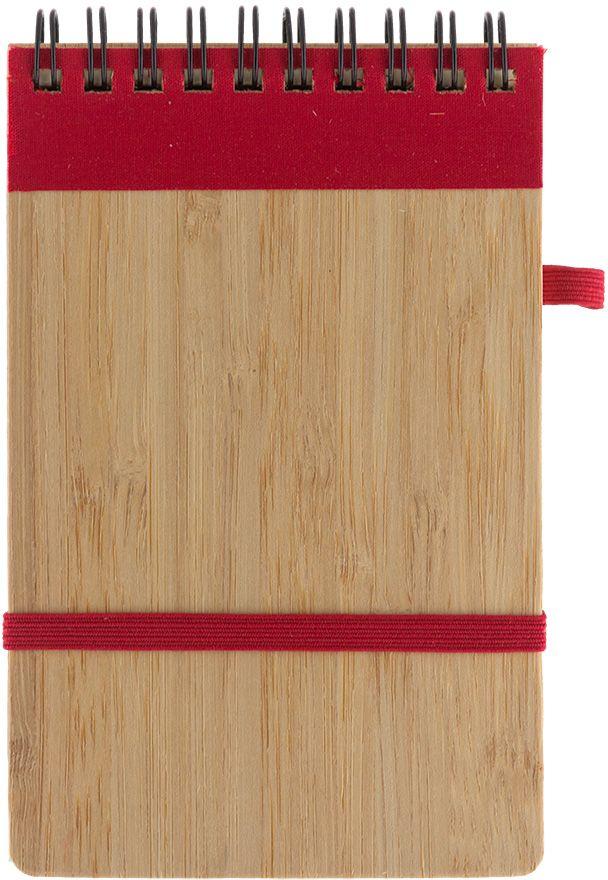Fiteko Блокнот 70 листов цвет светло-коричневый красный RPB-02RPB-02Листы белые не разлинованные - офсетная бумага плотностью 70 г/см2, обложка - бамбук.Данная продукция изготовлена из вторично переработанных материалов. Экоблокноты TM Fiteko очень удобны, компактный формат позволяет без проблем носить с собой даже в кармане, а твердая обложка обеспечит Вам удобную опору при записи или рисовании. Экоблокноты TM Fiteko могут стать идеальным сувениром для деловых коллег и партнеров. В связи с борьбой мирового сообщества за сохранение чистоты экологии на нашей планете, направление экоканцелярии востребовано и широко развивается во всем мире. Производство, переработка и утилизация таких материалов не загрязняет окружающую среду. TM Fiteko - сохраняя планету!Преимущества эко-канцелярии TM Fiteko:- экологически-чистые материалы;- использование крафт-бумаги [высокопрочной бумаги из слабопроваренной, длинноволокнистой целлюлозы];- стильные дизайны;- просчитанная эргономика.Вид крепления: на спирали.Количество листов: 70.Назначение: для записей.Размер: 90 х 140 мм.Техника: Универсальная.Тип товара: Блокнот.
