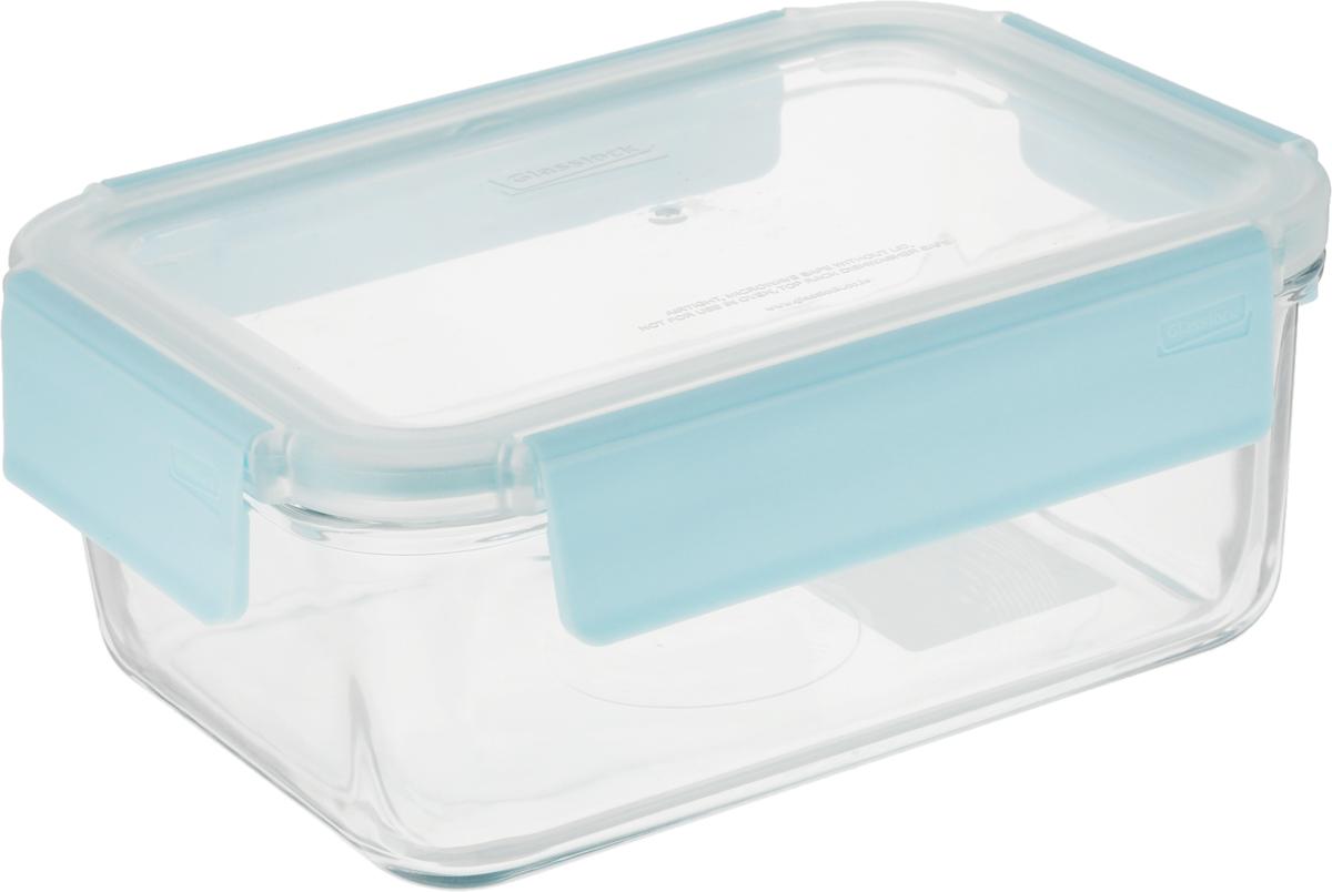 """Контейнер """"Glasslock"""", прямоугольный, цвет: прозрачный, 1,1 л"""
