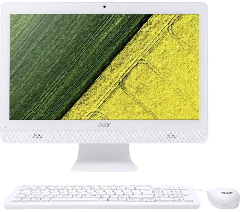 Acer Aspire C20-720, White моноблок (DQ.B6ZER.006) ноутбук acer aspire s5 371 54ud nx gcjer 006