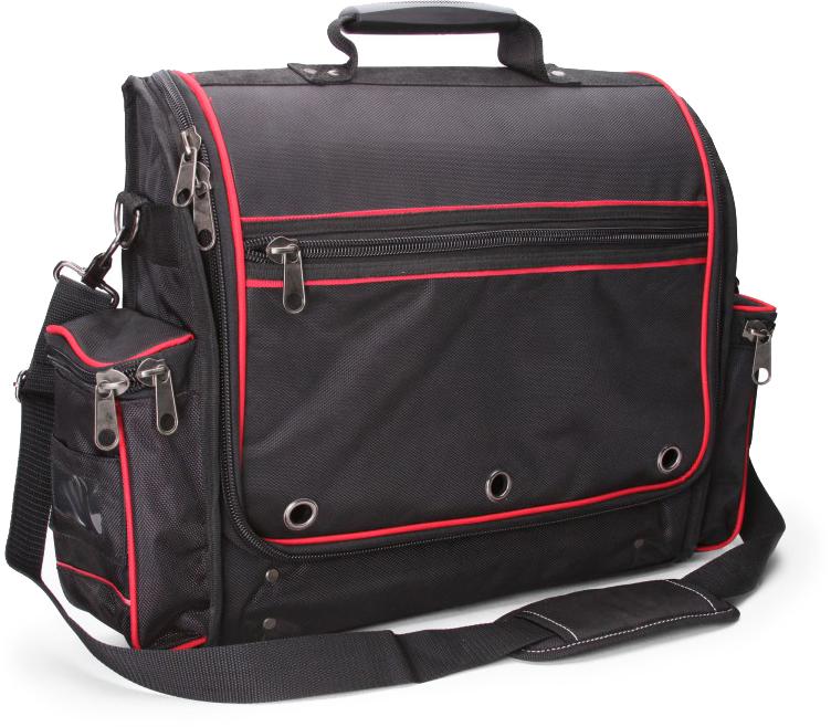 Сумка монтажника КВТ С-09, цвет: черный73528Прочная вместительная сумка КВТ С-09 выполнена из водонепроницаемого высококачественного полиэстера 1680D Оксфорд.Жесткое дно с резиновыми ножками.Прочная рукоятка с пластиковой накладкой для удобства переноски.Ремень с мягким наплечником и металлическими карабинами.Металлические кольца для крепления плечевого ремня.Прочные усиленные молнии с крупными звеньями.Сумка выдерживает вес до 15 кг.Одно большое внутреннее отделение.4 прозрачных кармана на откидывающемся клапане.48 карманов и крепежных элементов во внутреннем отделении.4 наружных кармана.