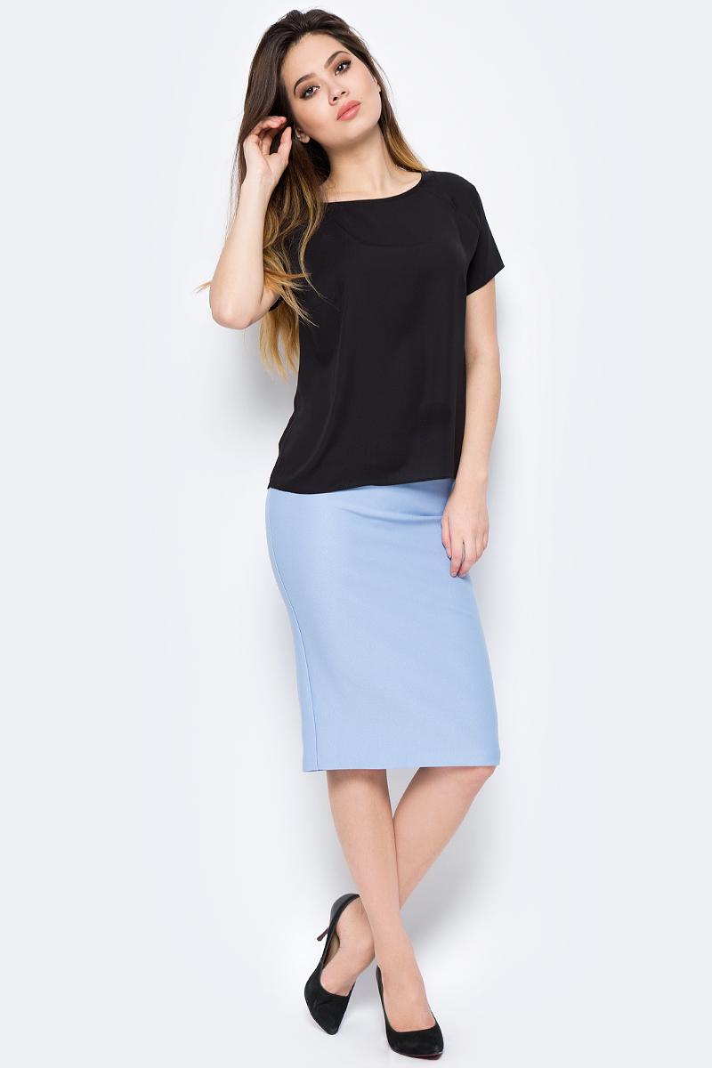 Блузка женская adL, цвет: черный. 11524788011_001. Размер XS (40/42) adl ad005ewqdi75