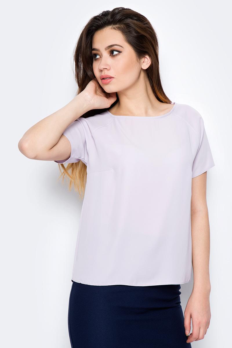 Блузка женская adL, цвет: лиловый. 11524788011_024. Размер XS (40/42)
