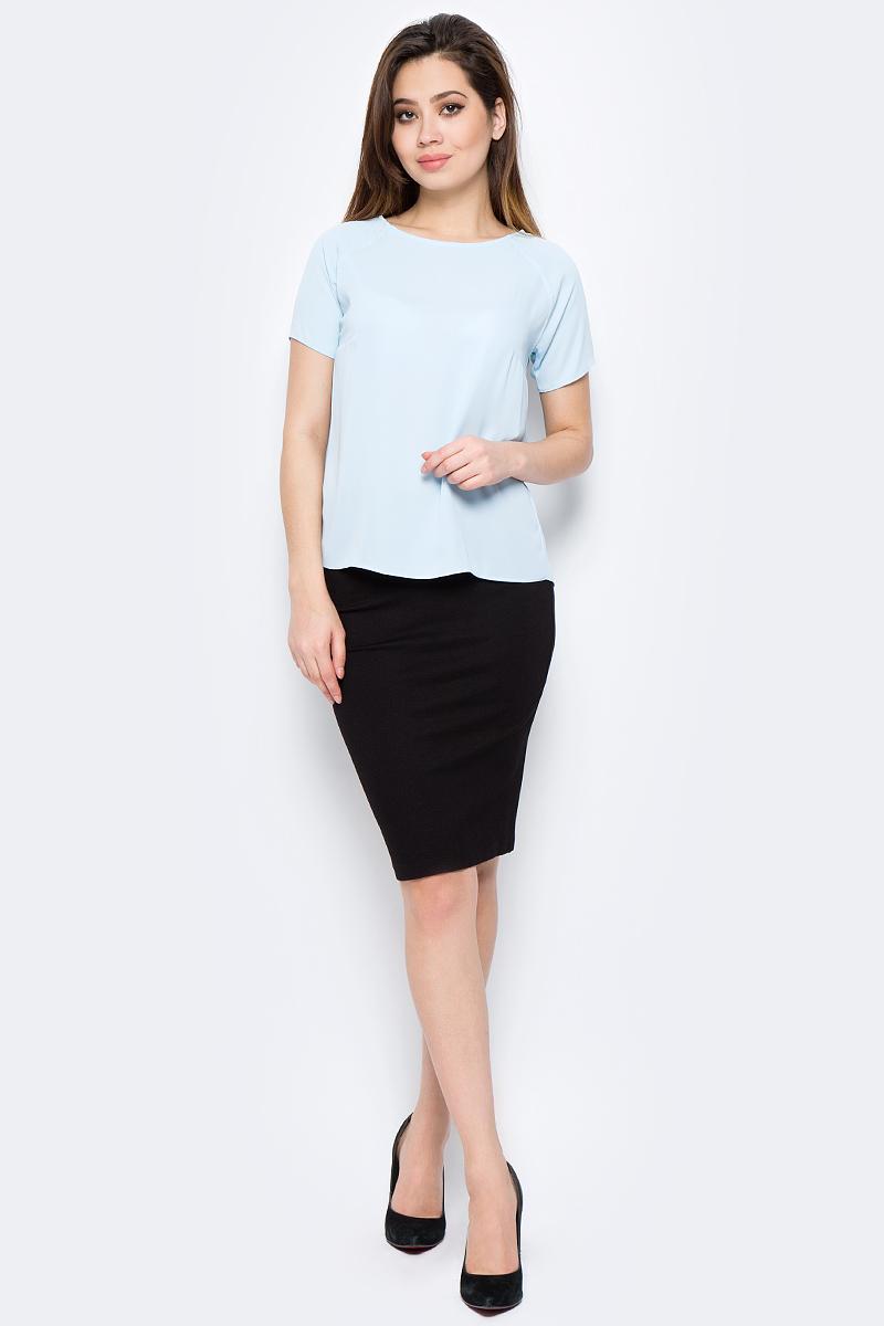 Блузка женская adL, цвет: голубой. 11524788011_035. Размер M (44/46)11524788011_035