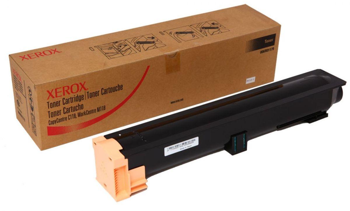 Xerox 006R01179, Black тонер-картридж для Xerox WorkCentre C118/M118/M1182006R01179Картридж лазерный Xerox 006R01179 идеально подходит для работы с Xerox WorkCentre C118/M118/M1182. Он способен обеспечить печать 11000 страниц при использовании стандартной бумаги формата А4. Картридж изготовлен из качественных материалов и гарантирует работоспособность даже в условиях максимальной загрузки устройства. Картридж предназначен для печати черным цветом и обеспечивает бесперебойную работу современного оборудования. Xerox 006R01179 - это сочетание лучших материалов по доступной цене.