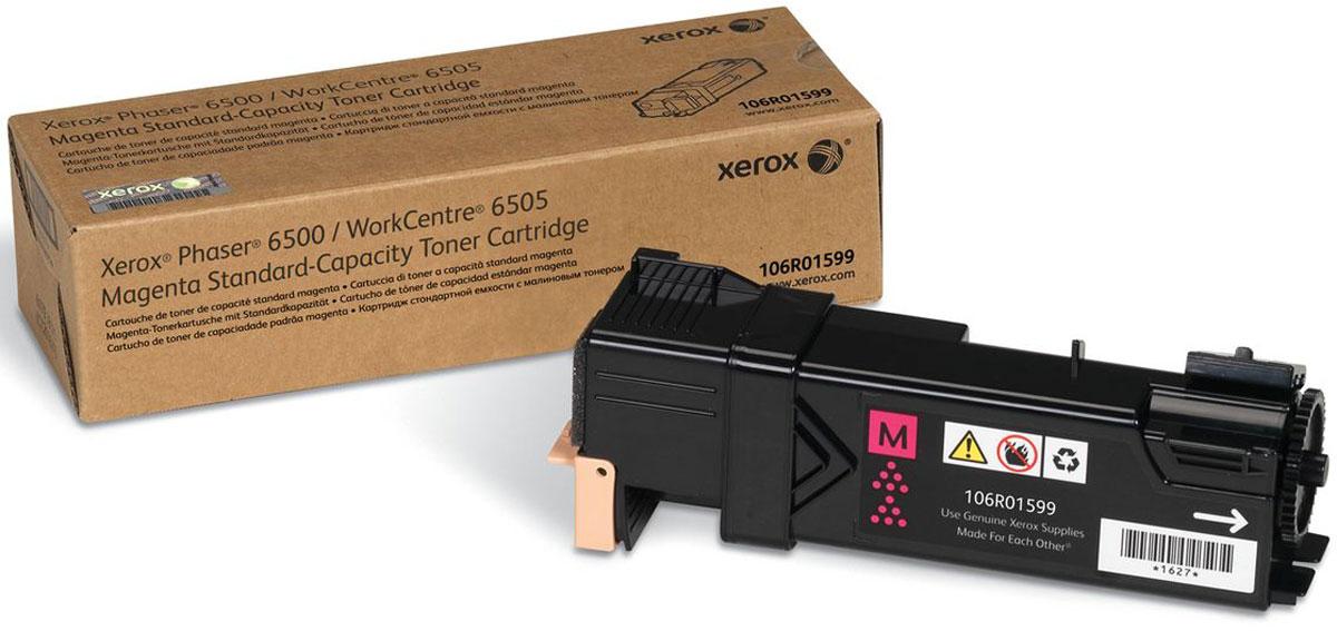 Xerox 106R01599, Magenta тонер-картридж для Xerox Phaser 6500/WorkCentre 6505106R01599Картридж лазерный Xerox 106R01599 идеально подходит для работы с Xerox Phaser 6500 / WorkCentre 6505. Он способен обеспечить печать 1000 страниц при использовании стандартной бумаги формата А4. Картридж изготовлен из качественных материалов и гарантирует работоспособность даже в условиях максимальной загрузки устройства. Картридж предназначен для печати красным цветом и обеспечивает бесперебойную работу современного оборудования. Xerox 106R01599 - это сочетание лучших материалов по доступной цене.