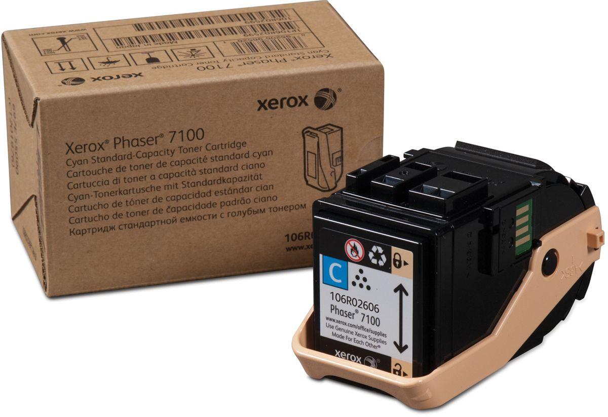 Xerox 106R02606, Cyan тонер-картридж для Xerox Phaser 7100106R02606Картридж лазерный Xerox 106R02606 идеально подходит для работы с Xerox Phaser 7100. Он способен обеспечить печать 4500 страниц при использовании стандартной бумаги формата А4. Картридж изготовлен из качественных материалов и гарантирует работоспособность даже в условиях максимальной загрузки устройства. Картридж предназначен для печати синим цветом и обеспечивает бесперебойную работу современного оборудования. Xerox 106R02606 - это сочетание лучших материалов по доступной цене.