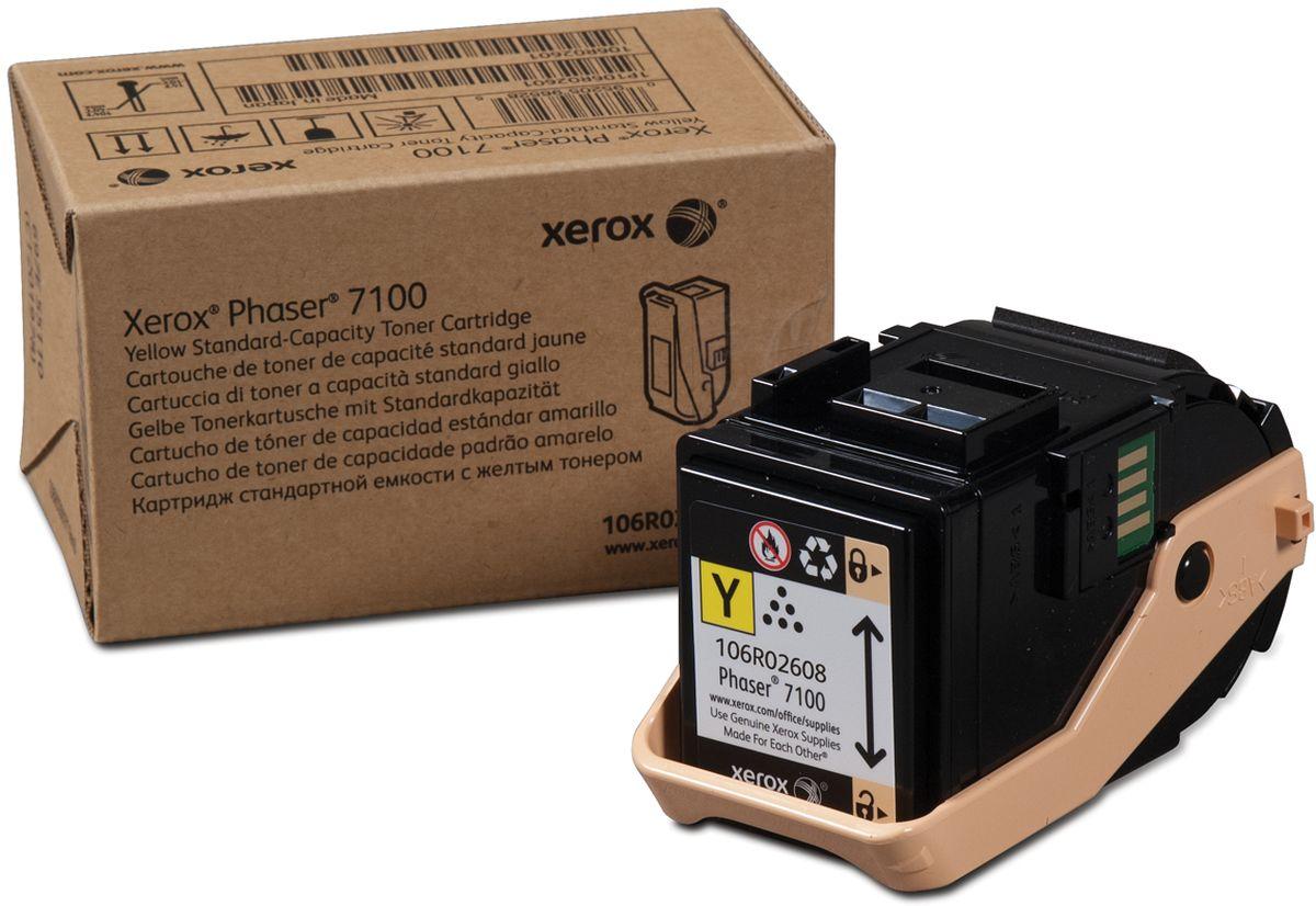 Xerox 106R02608, Yellow тонер-картридж для Xerox Phaser 7100106R02608Фотобарабан для изображений Xerox 106R02608 представляет собой оригинальный расходный материал и позволяет значительно продлить срок службы вашего печатного устройства. Представленная модель может использоваться в ряде принтеров популярного бренда Xerox Phaser 7100. Фотобарабан Xerox 106R02608 выполнен из качественных материалов, что обеспечивает длительный срок его службы. Представленный модуль обеспечит бесперебойную печать отличного качества, оптимально подойдет для работы в офисе.