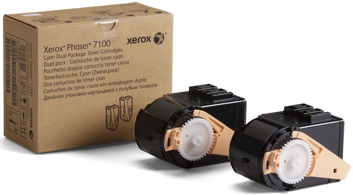 Xerox 106R02609, Cyan тонер-картридж для Xerox Phaser 7100106R02609Картридж лазерный Xerox 106R02609 идеально подходит для работы с Xerox Phaser 7100. Он способен обеспечить печать 9000 страниц при использовании стандартной бумаги формата А4 благодаря двойному комплекту в коробке. Картридж изготовлен из качественных материалов и гарантирует работоспособность даже в условиях максимальной загрузки устройства. Картридж предназначен для печати синим цветом и обеспечивает бесперебойную работу современного оборудования. Xerox 106R02609 - это сочетание лучших материалов по доступной цене.
