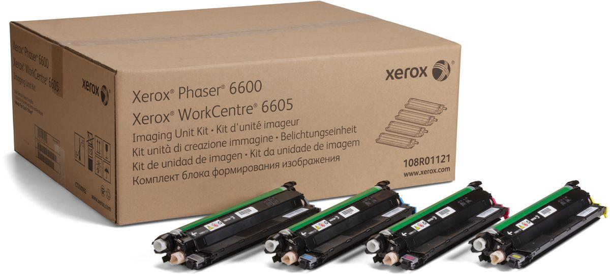 Xerox 108R01121, Black фотобарабан для Xerox Phaser 6600/WorkCentre 6605108R01121Фотобарабан для изображений Xerox 108R01121 представляет собой оригинальный расходный материал и позволяет значительно продлить срок службы вашего печатного устройства. Представленная модель может использоваться в ряде принтеров популярного бренда Xerox Phaser 6600 / WorkCentre 6605. Фотобарабан Xerox 108R01121 выполнен из качественных материалов, что обеспечивает длительный срок его службы. Представленный модуль обеспечит бесперебойную печать отличного качества, оптимально подойдет для работы в офисе.