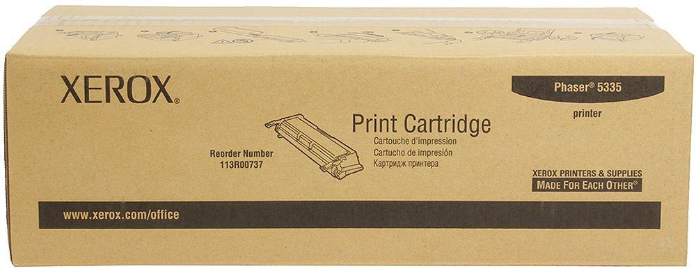 Xerox 113R00737, Black тонер-картридж для Xerox Phaser 5335113R00737Картридж лазерный Xerox 106R02721 идеально подходит для работы с Xerox Phaser 3610 / WorkCentre 3615. Он способен обеспечить печать 5900 страниц при использовании стандартной бумаги формата А4. Картридж изготовлен из качественных материалов и гарантирует работоспособность даже в условиях максимальной загрузки устройства. Картридж предназначен для печати черным цветом и обеспечивает бесперебойную работу современного оборудования. Xerox 106R02721 - это сочетание лучших материалов по доступной цене.