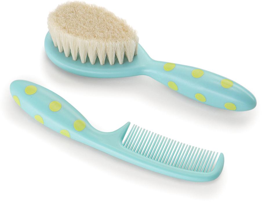 Happy Baby Набор детских расчесок для волос 2 шт расчески для волос детские happy baby brush comb set 17000 mint
