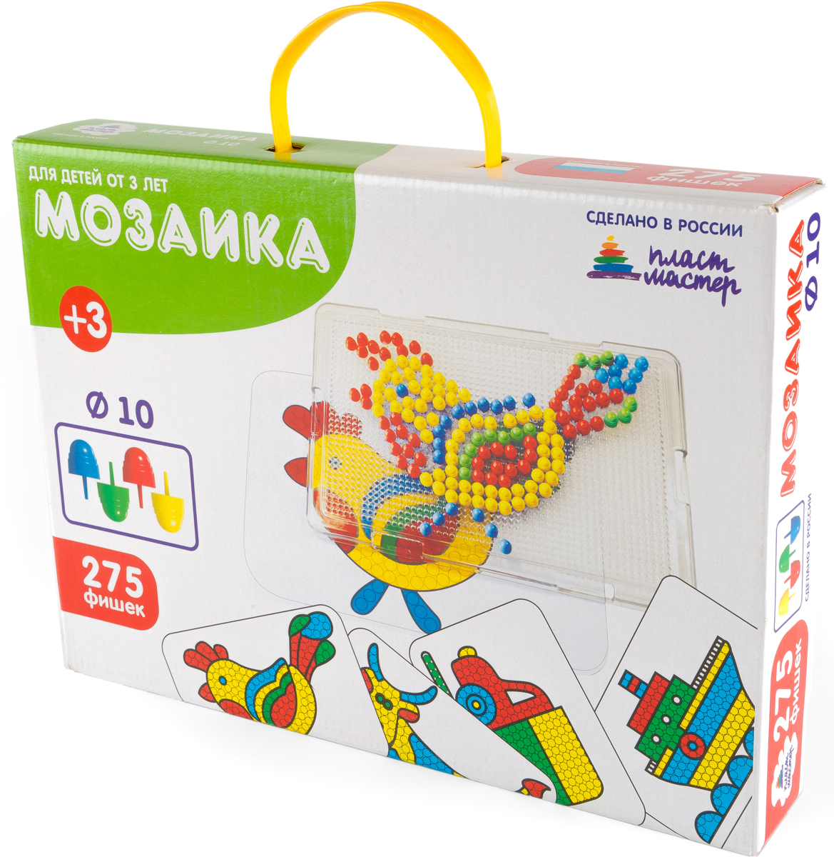 Пластмастер Мозаика с картинками d10 пластмастер напольная мозаика