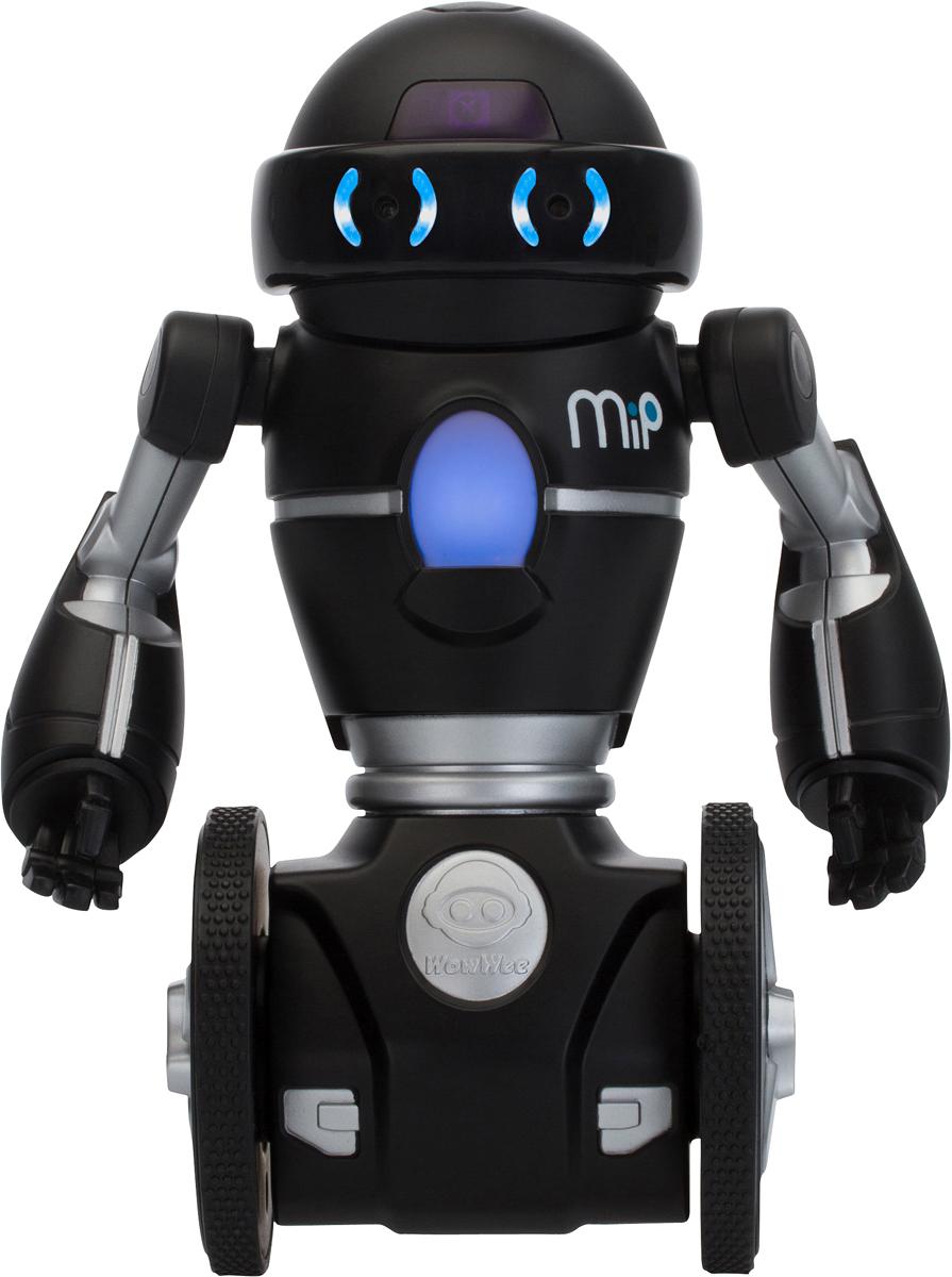 WowWee Робот MIP цвет черный ownsun innovative super cob fog light angel eye bumper cover for skoda fabia scout