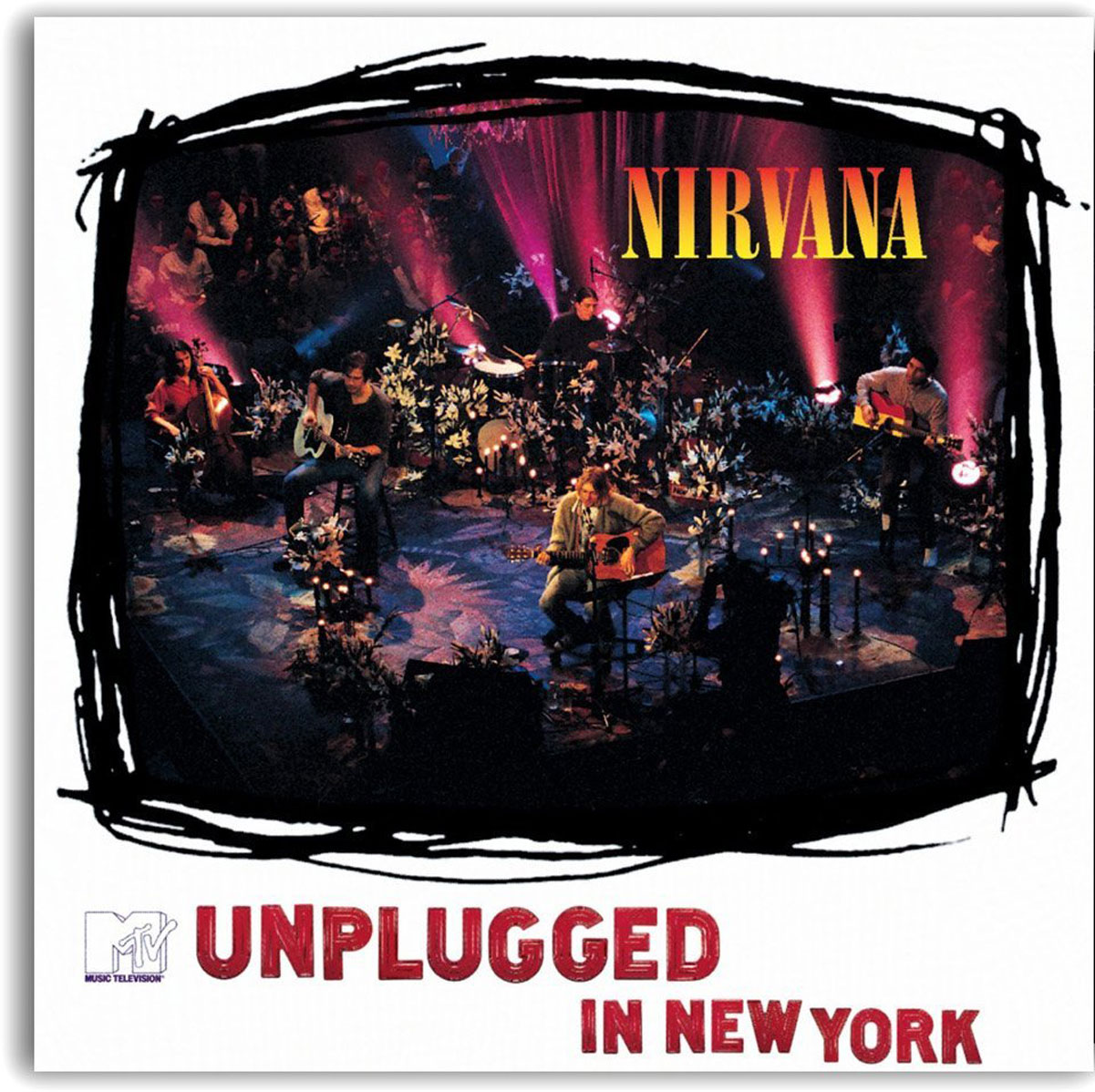 Nirvana Nirvana. MTV Unplugged In New York. Live (LP)