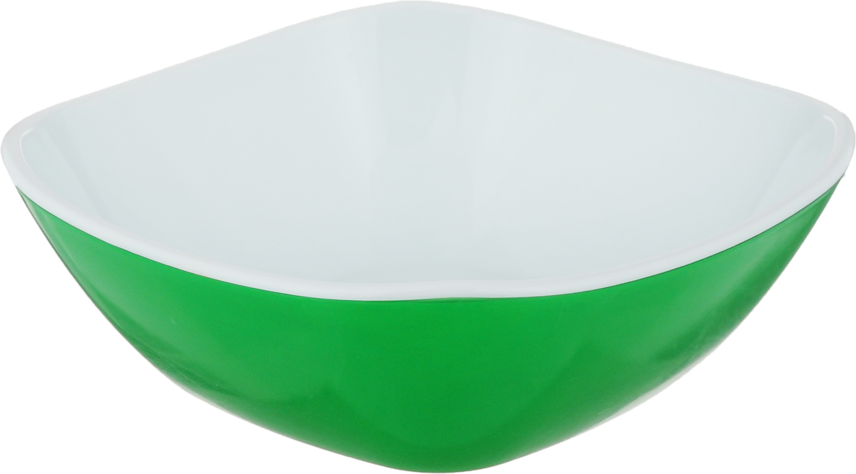 Салатник Libra Plast Кватро, цвет: зеленый, 270 млLP0034_зеленыйСалатница Libra Plast Кватро, выполненная из высококачественного материала, сочетает в себе изысканный дизайн с максимальной функциональностью. Яркие цвета позволят красиво украсить праздничный стол.
